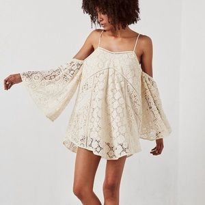 Spell Designs  Imperial Lace Mini Dress